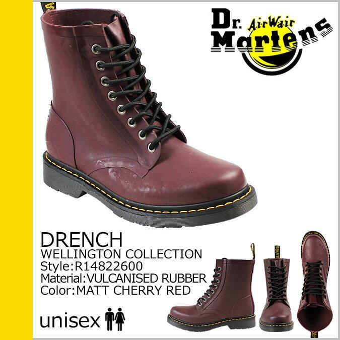 Dr.Martens ドクターマーチン 8ホール ブーツ  DRENCH 8EYE BOOT  R14822600 メンズ レディース
