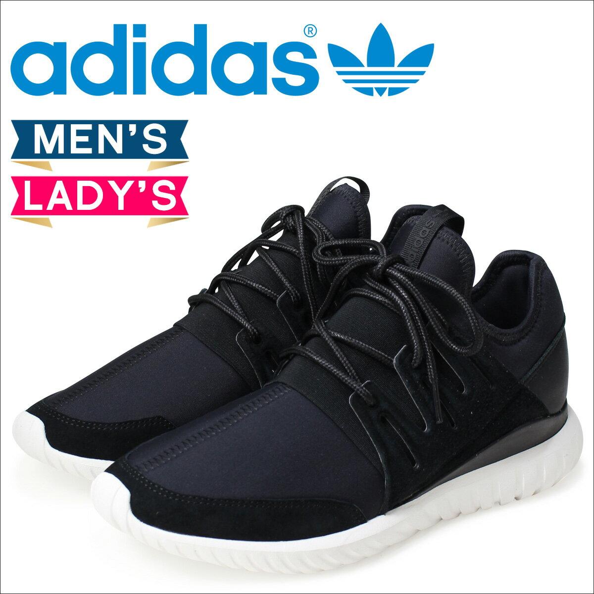 adidas Originals チュブラー メンズ レディース スニーカー アディダス オリジナルス ラディアル  TUBULAR RADIAL  AQ6723 靴 ブラック