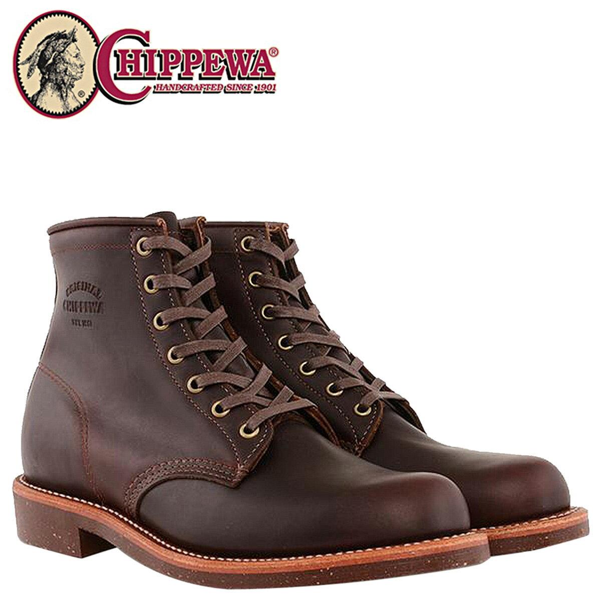 CHIPPEWA 6INCH SERVICE BOOT チペワ ブーツ 6インチ サービス 1901M25 Dワイズ コードバン メンズ [12/15 再入荷] [1712]