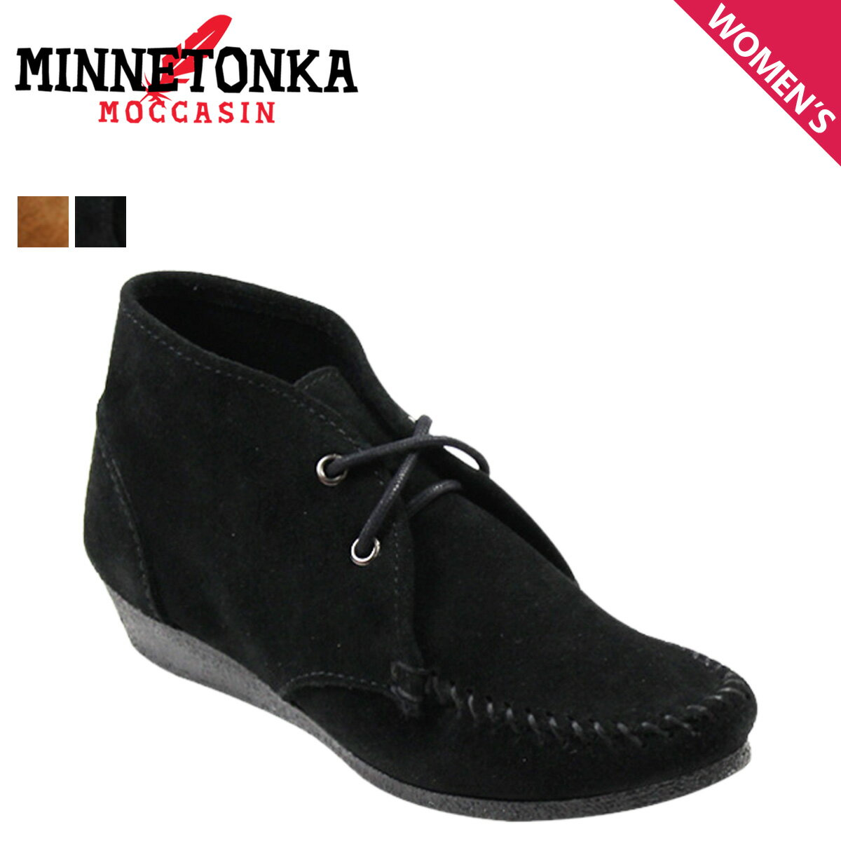 MINNETONKA ミネトンカ チャッカ ウェッジ ブーティ ブーツ  CHUKKA WEDGE BOOTIE  レディース