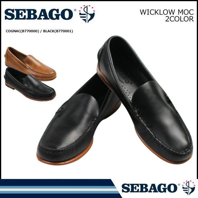 セバゴ SEBAGO ローファー スリッポン  WICKLOW MOC Dワイズ  メンズ
