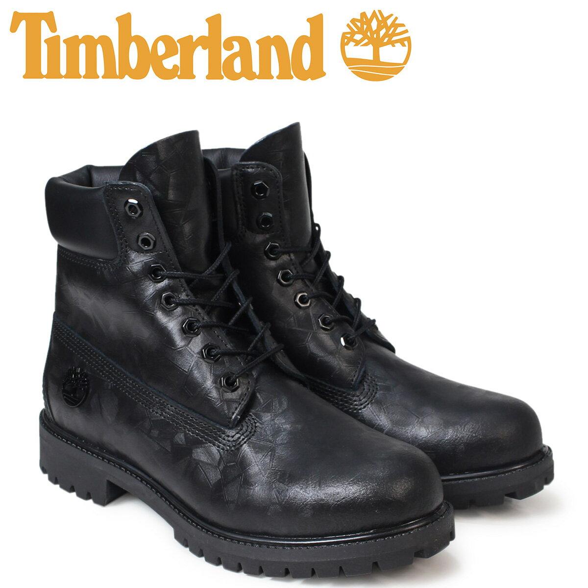 Timberland 6インチ メンズ ティンバーランド ブーツ プレミアム 6INCHI PREMIUM BOOTS A1JD9 Wワイズ 防水 ブラック[179]