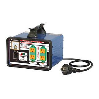 日動 変圧器 降圧専用カセットコンセントトラパック 3KVA NTB-300D-CC