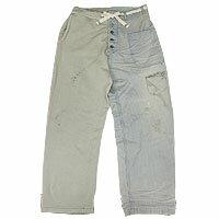 【エフィレボル/.efilevol】Marine Hickory×Sweat Pants マリンヒッコリー×スウェットパンツ【送料無料】