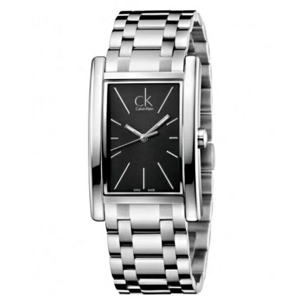 【数量限定】カルバンクライン 時計 メンズ 腕時計 REFINE ブラック文字盤 シルバー ステンレス K4P21141 ビジネス 男性 ブランド 時計 誕生日 お祝い クリスマスプレゼント ギフト お洒落