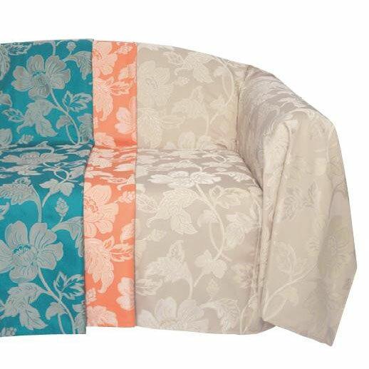 【送料無料】川島織物セルコン selegrance(セレグランス) フルール マルチカバー 195×195cm HV1403Sa1b