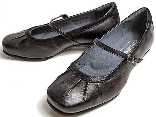 【送料無料】asics Pedala アシックスペダラ ウォーキング・コンフォート甲ストラップパンプス レディース ブラック【靴】