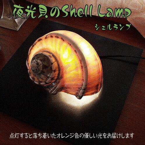 夜光貝のシェルランプ SHELL LAMP インテリア ランプシェード 螺鈿細工