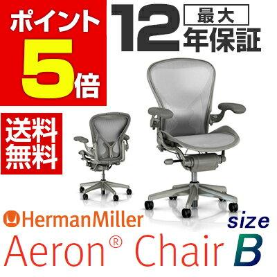 【12月下旬入荷予定】【Aeron Chairs】アーロンチェア チタニウムカラーベース ポスチャーフィットフル装備 Bサイズ(クラシックジンクペリクル) オフィスチェア ワークチェア パソコンチェア hermanmiller ハーマンミラー AE113AWB PJXTBBS83V01【ポイント5倍】