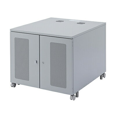 サンワサプライ W800機器収納ボックス(H700) W800×D900×H700mm