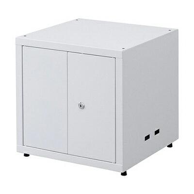鍵付き前扉 セキュリティボックス 連結設置可 幅400×奥行400×高さ414mm