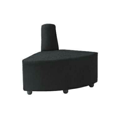 DLCシリーズ ロビーチェア 背もたれ付 内コーナー 布張り / DLC-R30