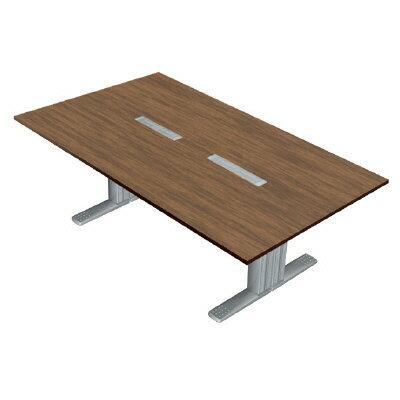 PLUS(プラス)オフィス家具 XF TYPE-L ミーティングテーブル W(幅)2400 D(奥行き)1200 H(高さ)720