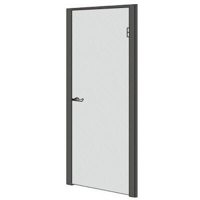 PLUS(プラス)オフィス家具 LFパネル ドアパネル(錠付) 標準(ABS樹脂)グレー色 W(幅)900 D(奥行き)60 H(高さ)1925