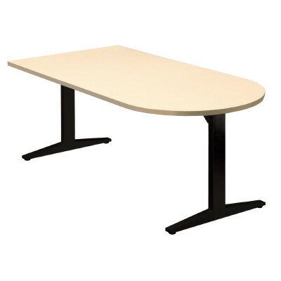 PLUS(プラス)会議テーブル/ミーティングテーブル/STAGEO・ステージオ 会議テーブル ST-180TU WM/BK