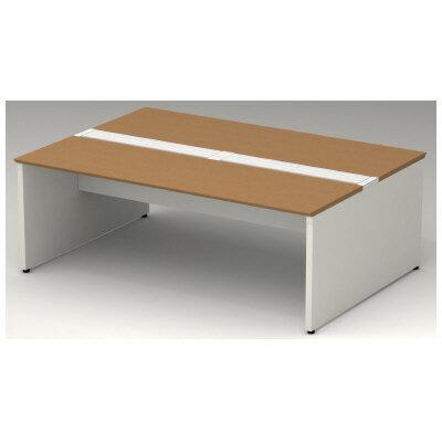 PLUS(プラス)オフィス家具 STAGEO FREE type-W 両面ベースセット W(幅)2000 D(奥行き)1200 H(高さ)720