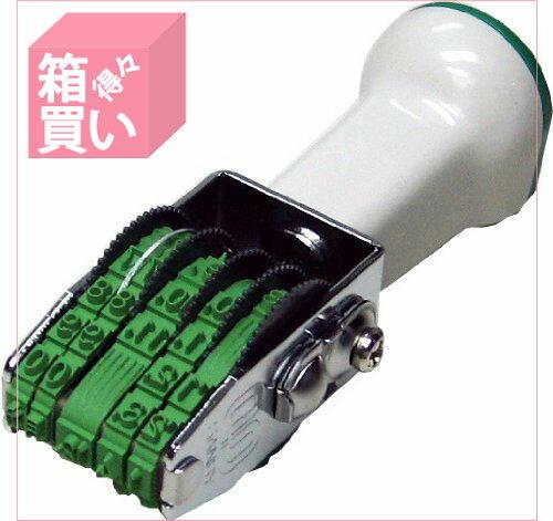 【箱買い商品 / 一箱120セット】サンビー テクノ回転欧文日付5 TK-GD5 (納期優先の為単品詰合せの場合が御座います)