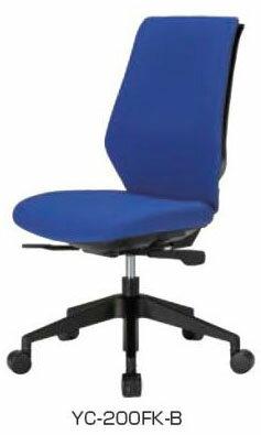 YCチェア システムチェア 【 背クッション 】 【 肘なし 】 【 オートバランス 】 【 選べる張地 全4色 】 【 選べるキャスタータイプ 】 【 選べるハンガー 】 事務用回転椅子 オフィスチェア デスクチェア PCチェア OAチェア パソコンチェア