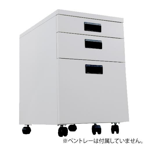 国産 オリジナル3段ワゴン デスクインキャビネット [ 日本製 国産 インワゴン ]