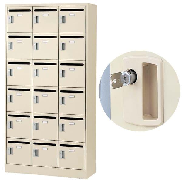 生興 メールボックス(D380・ニューグレー) W900×D380×H1790 SLC-18TP-T 内筒交換錠