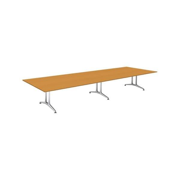コクヨ(KOKUYO) ミーティングテーブル 長方形 WT-200シリーズ W4800×D1500×H720mm WT-W203【別途 組立費必須】