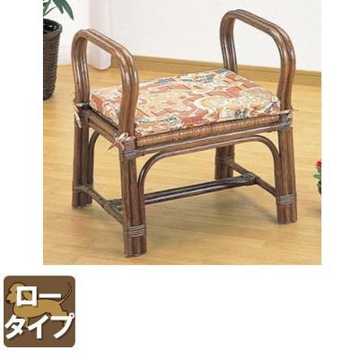 ラタン 籐ちょこっと座椅子 ロータイプ S118B【送料無料】【大川家具】【smtb-MS】【RCP】【TPO】【KOU】【snp】
