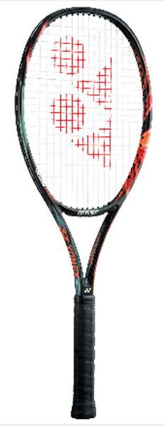 ヨネックス Vコア デュエル ジー 100 硬式テニスラケット VCDG100-401 (ブラック/オレンジ)