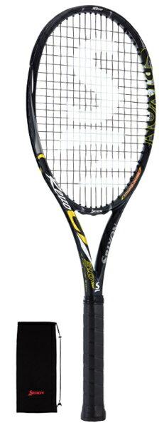 スリクソン レヴォ CV 3.0 ツアー 硬式テニスラケット SR21601 (ブラック)