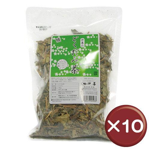 【送料無料】どくだみ茶 100g 10袋セットフラボノイド|たまご肌|肌荒れ|[飲み物>お茶>ドクダミ茶]
