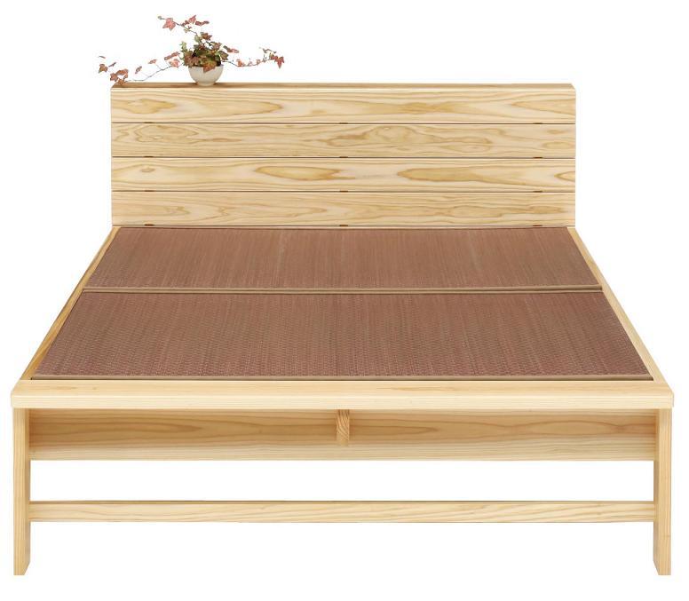 畳ベッド ベッド 木製 たたみベッド シングルベッド 国産 畳ベット シングル  シングルベッドフレーム 畳 杉無垢 モダン シンプル    たたみベッド 日本製