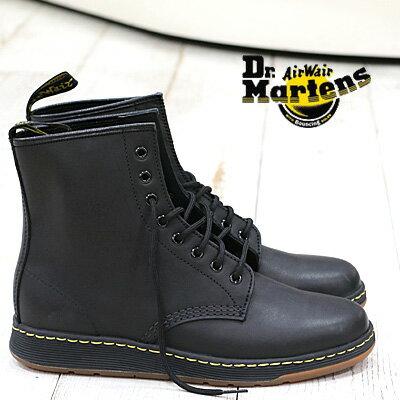7/28新作入荷  正規品 Dr.Martens NEWTON BLACK 21856001 ドクターマーチン ニュートン 8ホール シューズ ブラック メンズ レディース 靴 【マーチン 3ホール に並ぶ人気シリーズ】