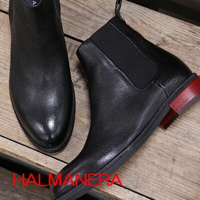 HALMANERA MVENICE22  ハルマネラ  サイドゴア ショートブーツ boots 【 FABIO RUSCONI ファビオルスコーニ に並ぶ人気 】 【made in ITALY】