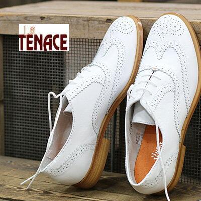 La TENACE 靴 ラ・テナーチェ 385 VITELLO GALAXY BIANCO  レディース ladies shoes