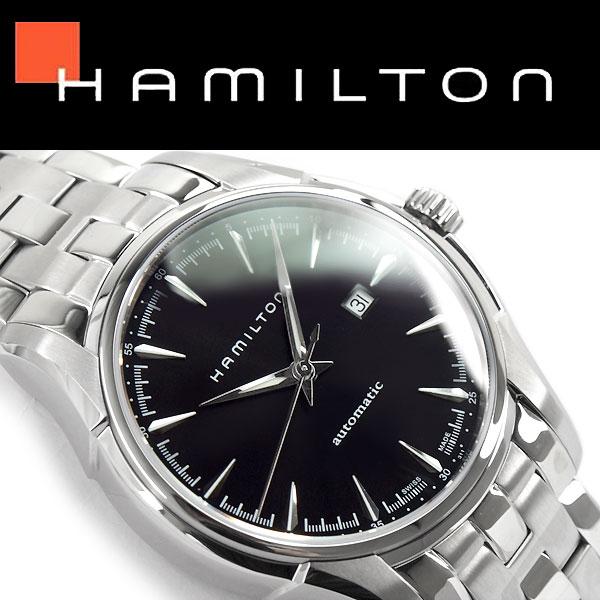 【HAMILTON】ハミルトン ジャズマスター ビューマチックオート メンズ 腕時計 アナログ 手巻き付き 自動巻きムーブメント ブラックダイアル ステンレスベルト 44mm スイス製 H32715131【あす楽】