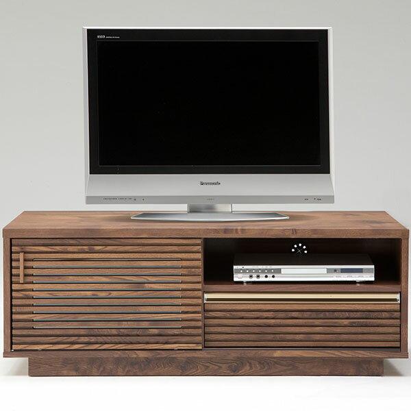 【送料無料】木のぬくもりを感じる、落ち着きのあるロータイプの120テレビボード【大型配送無料】【開梱設置別途料金あり】