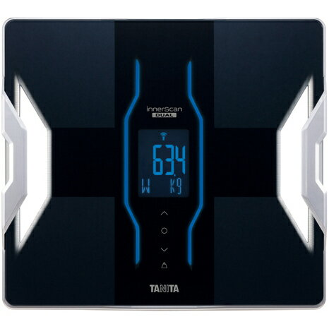 【長期保証付】タニタ RD-E02-BK(ブラック) デュアルタイプ体組成計 インナースキャンデュアル