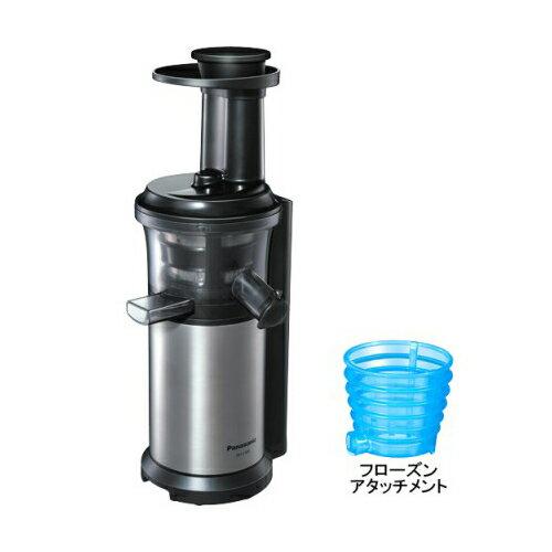 パナソニック MJ-L500-S(シルバー) 低速ジューサー ビタミンサーバー