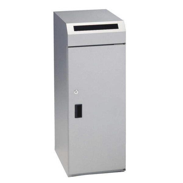 ライオン事務器 機密書類回収ボックス W300×D410×H800mm SCR-10 585-86【代引不可】