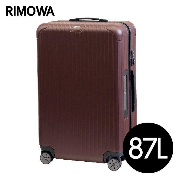 リモワ RIMOWA サルサ 87L グラナイトブラウン E-Tag SALSA ELECTRONIC TAG マルチホイール スーツケース 811.73.14.5