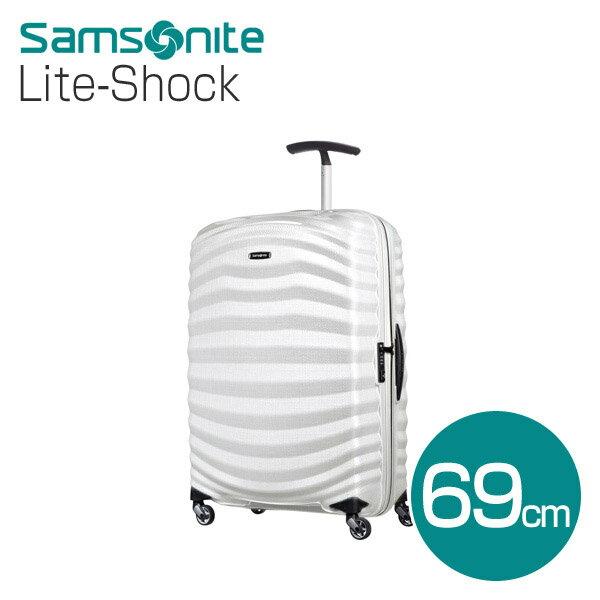 サムソナイト ライトショック 69cm オフホワイト スピナー Samsonite Lite-Shock Spinner 98V-35-002 73L 【送料無料(一部地域除く)】