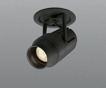 【コイズミ照明】XD 48283 L [ XD48283L ]LED ダウンスポットライト cledy micro シリーズブラック 低色温度 2500K【返品種別B】