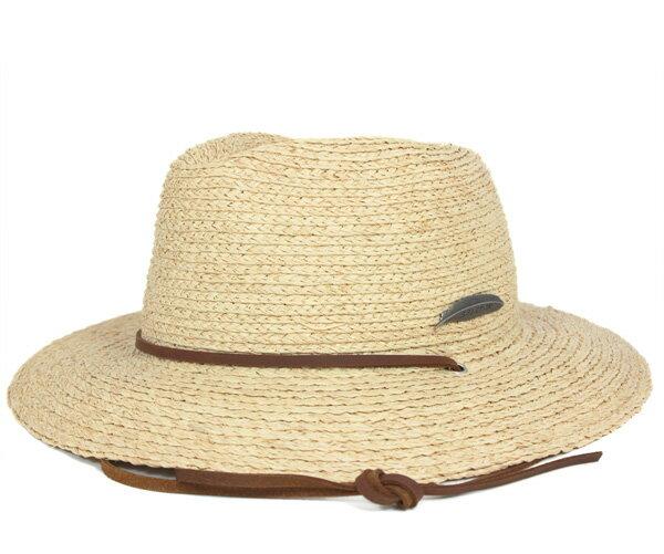 ブリクストン(BRIXTON) ストローハット レディース マイヤーズ タン 麦わら帽子 HAT LADIES MYERS TAN メンズ
