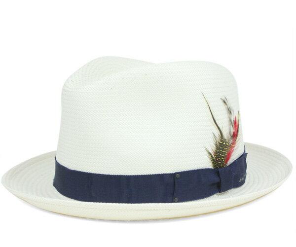 ベイリー(Bailey Hats) ストローハット 中折れ 麦わら帽子 ガスリー ナチュラル 帽子 HAT GUTHRIE NATURAL メンズ