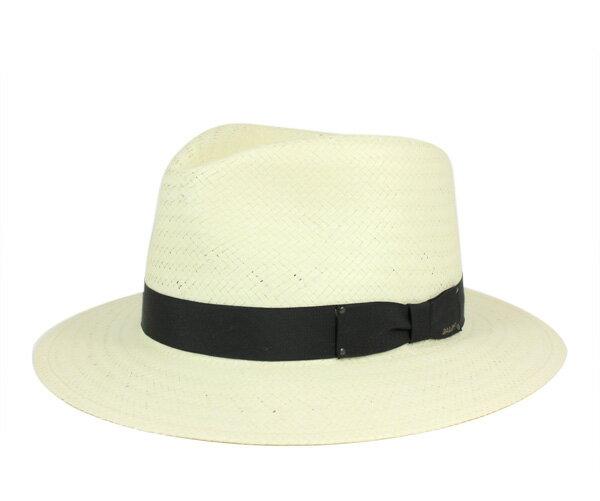 ベイリー(Bailey Hats)ストローハット 麦わら スペンサー ナチュラル 中折れ 帽子 HAT SPENCER NATURAL 麦わら帽子 ストローハット 大きいサイズ メンズ [RV]