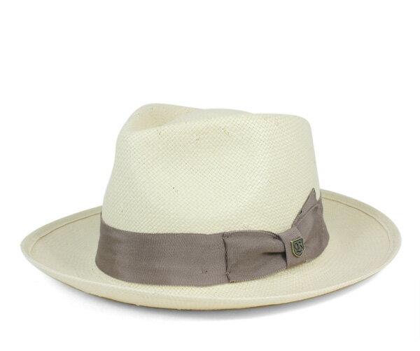 ブリクストン(BRIXTON) ストローハット 麦わら帽子 トプレスリー タン 帽子 STRAW HAT PRESLEY TAN メンズ