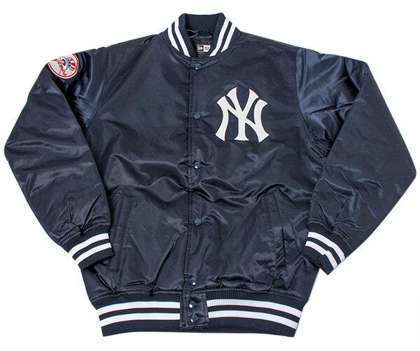 NEW ERA(ニューエラ) バーシティジャケット MLB ニューヨークヤンキース ネイビー ナイロン アウター メンズ