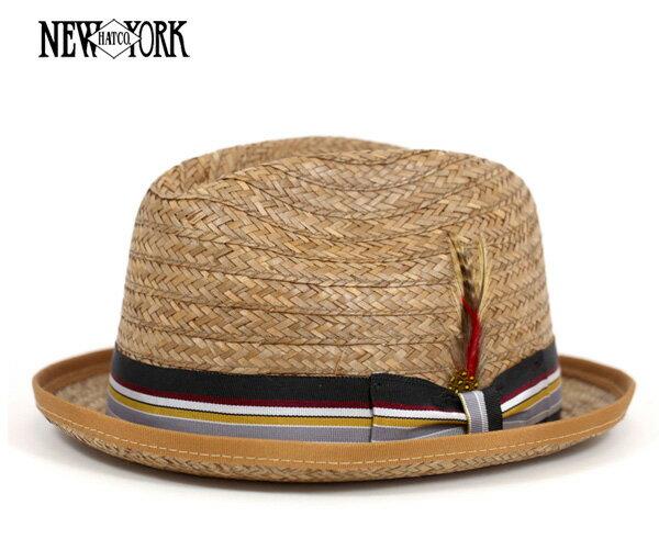 ニューヨークハット(NEW YORK HAT) スティンジー ココナッツ ストローハット 帽子 COCONUT STINGY COCONUT 麦わら帽子 メンズ