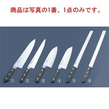 �ソノ モリブデ�鋼 ツバ付 牛刀 No.515 30cm�包�】�Misono】�キッ�ンナイフ】