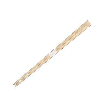 杉あすか箸(白帯) 24cm 100膳×25P【代引き不可】