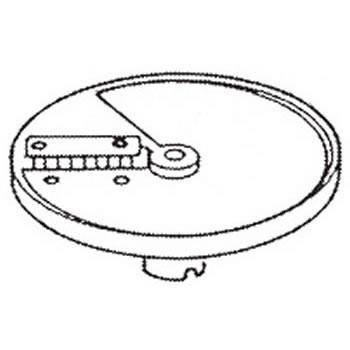 ロボクープ 野菜スライサー CL-52D・CL-50E用刃物円盤 角千切り盤 3mm×3mm【野菜スライサー フードスライサー 業務用スライサー】【robot coupe】【エフエムアイ】【業務用】